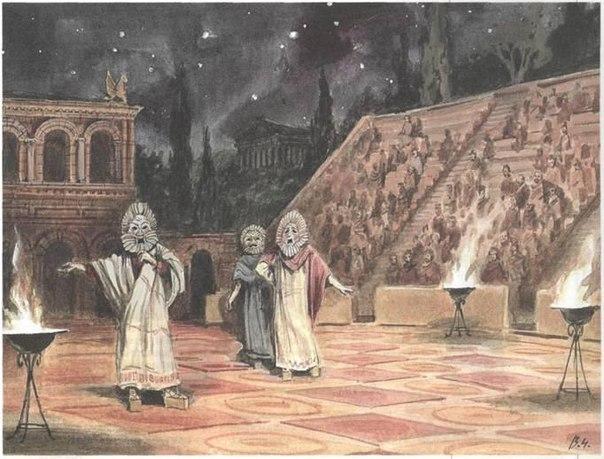 10 фактов о Древнегреческом театре
