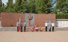 В Сочи прошла церемония захоронения летчиков, погибших в годы войны